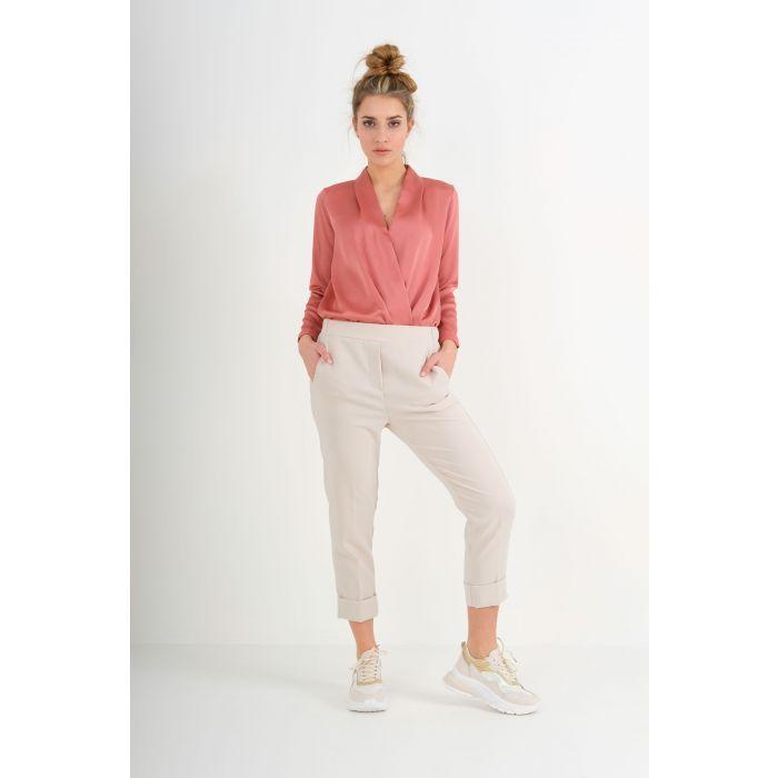 Pantalone elastico in vita