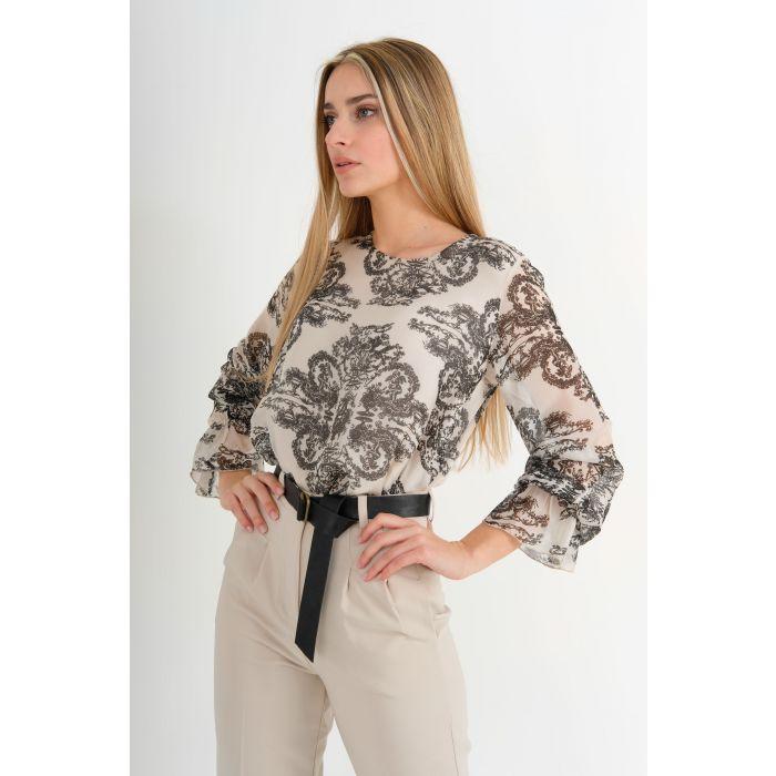 Blusa stampa batik