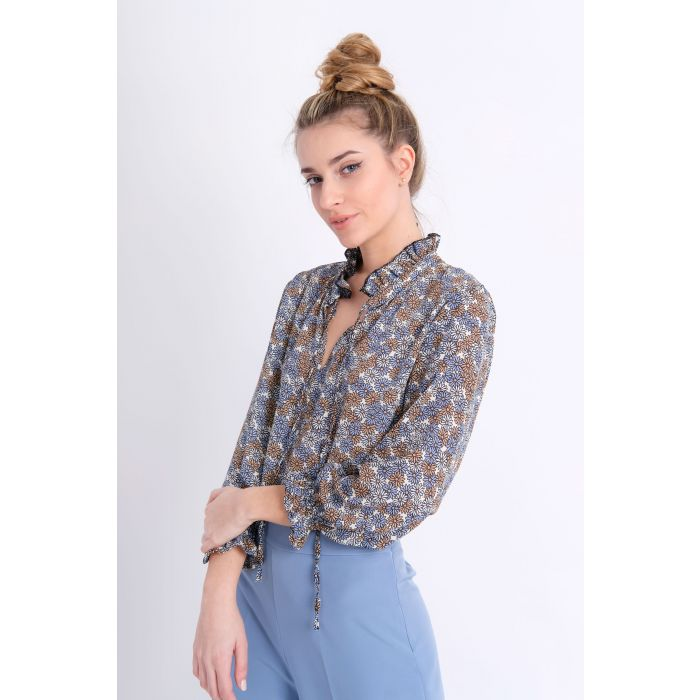 Camicia rouges margherite