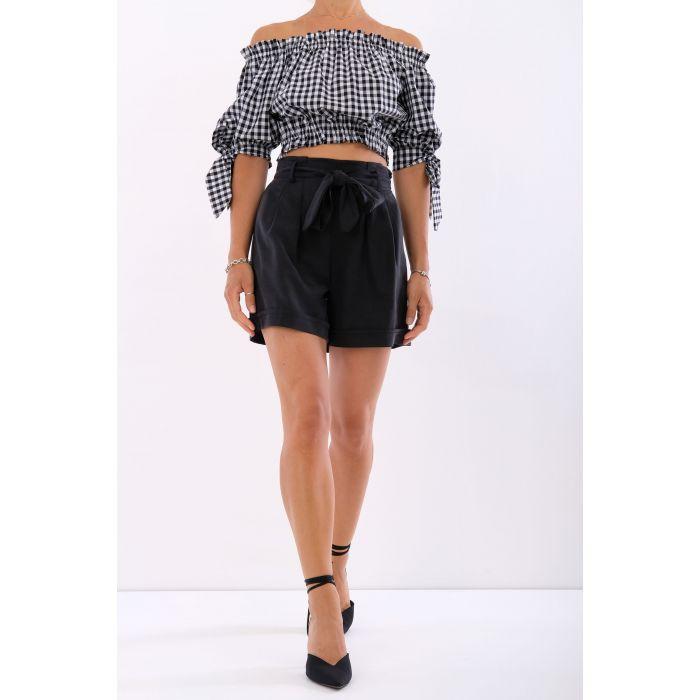 Shorts tencel fiocco