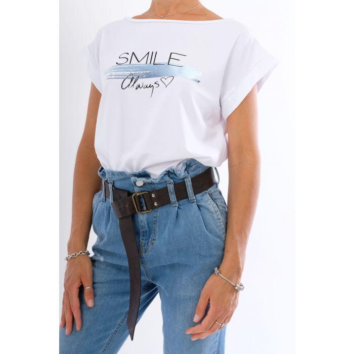 T-Shirt smile always
