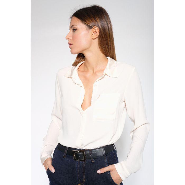 Camicia inserti raso viscosa