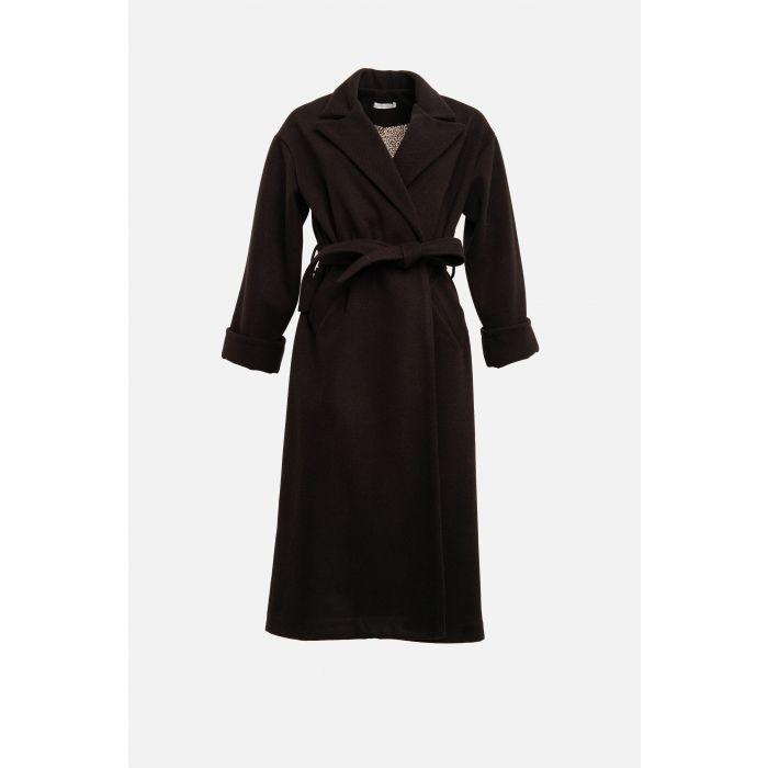 Cappotto vestaglia rigato