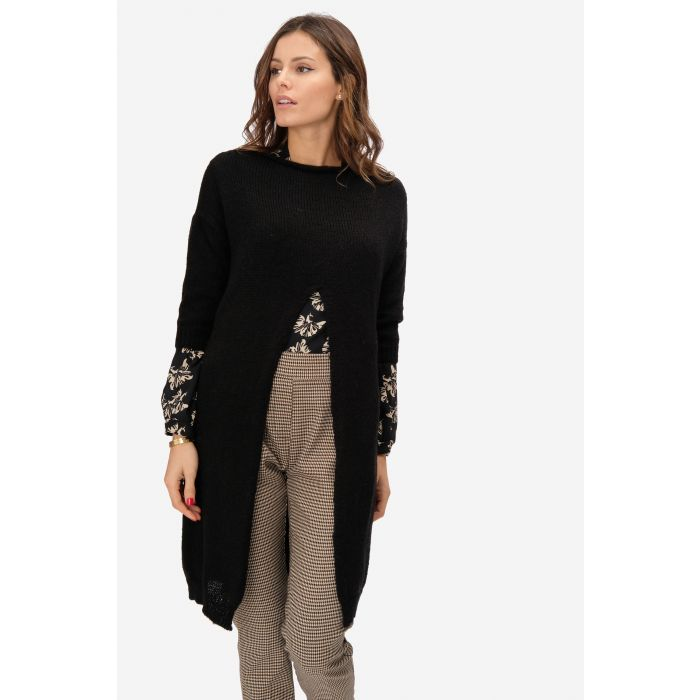 pullover spacco frontale