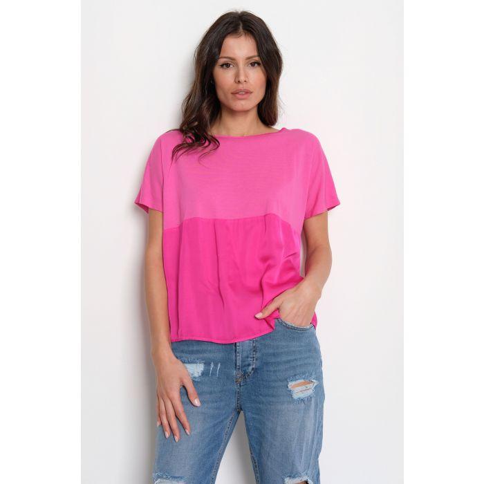 T-Shirt inserto raso