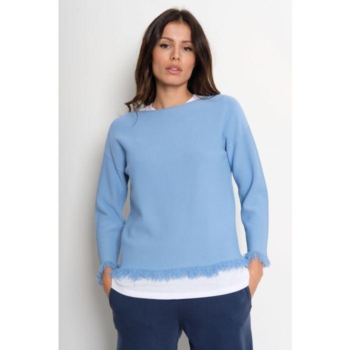 Pullover frange