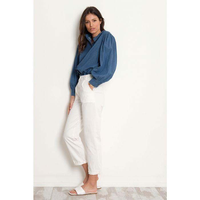 Pantalone elasticizzato pences