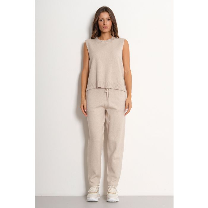 Pantalone maglia carrot