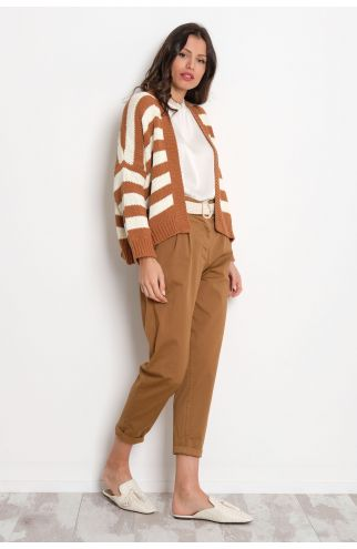Pantalone cotone pence