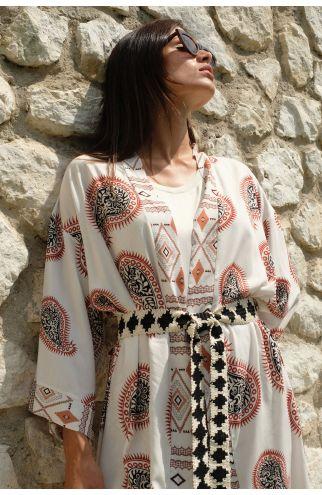 Kimono fantasia geometrica