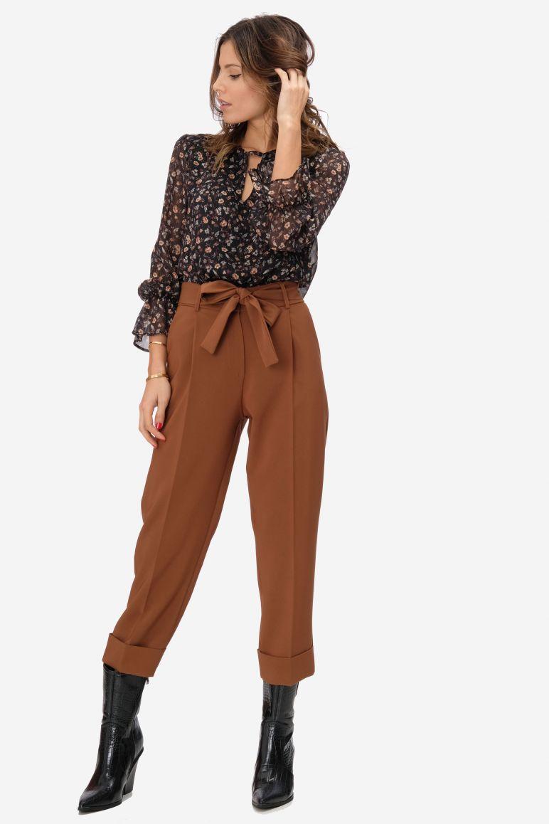 Pantalone pence fiocco
