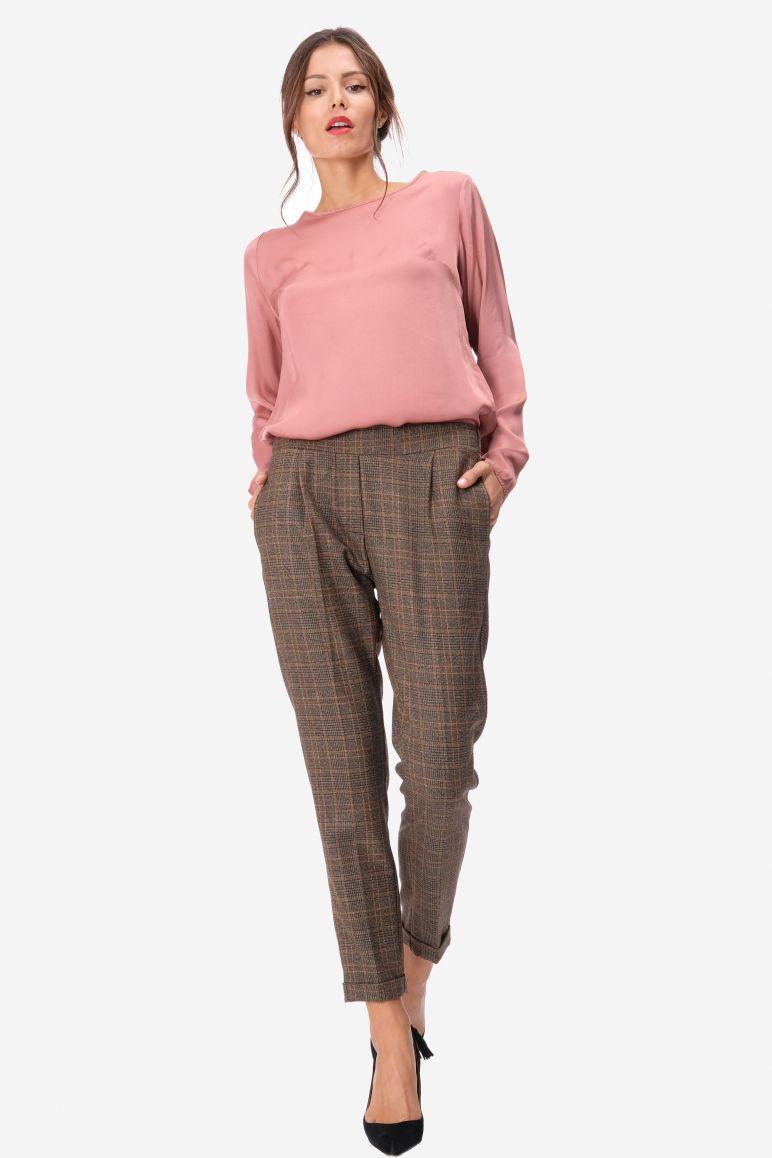 Pantalone fantasia quadri