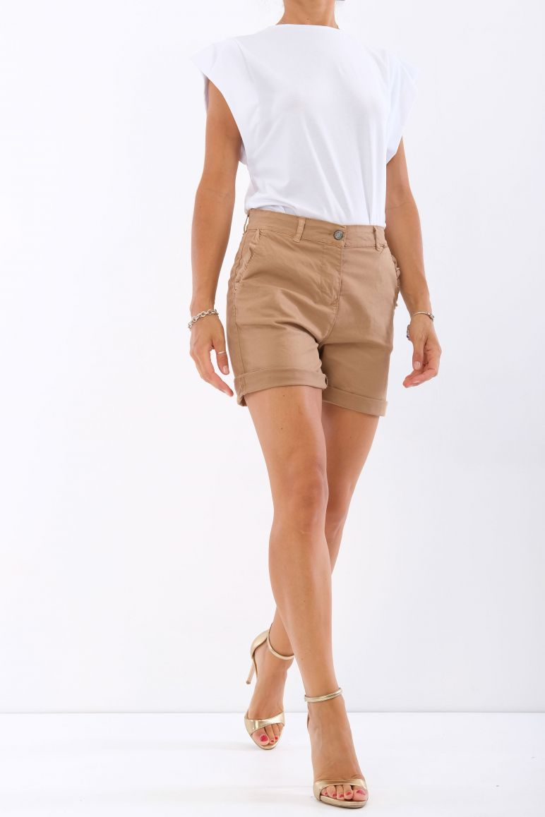 Shorts in cotone