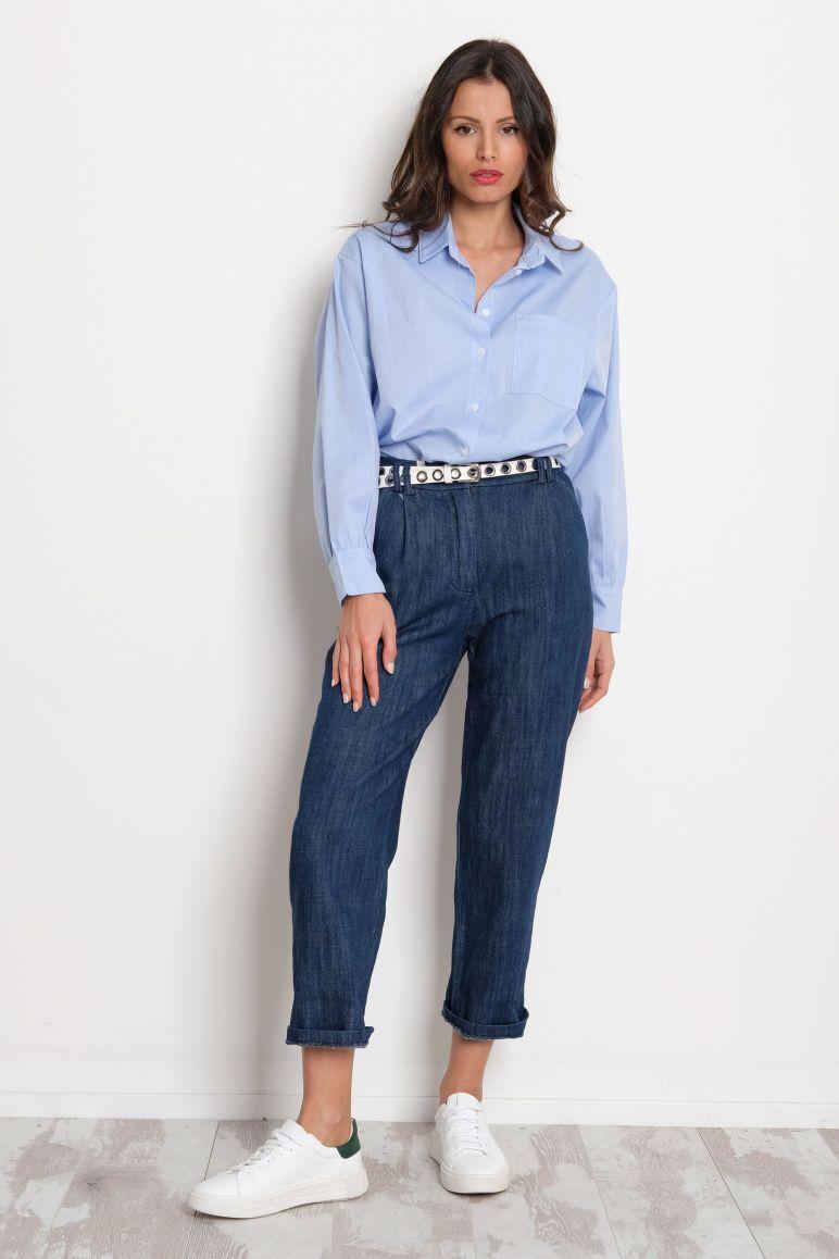 Pantalone effetto jeans