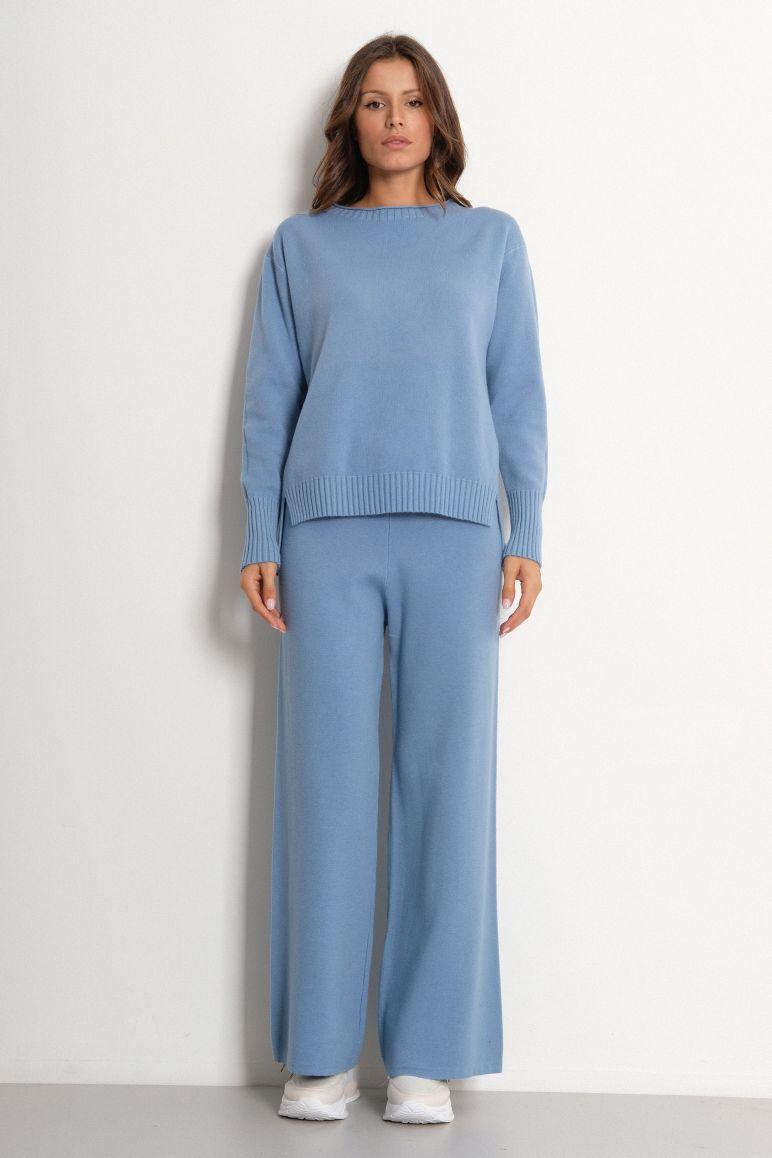 Pantalone maglia palazzo